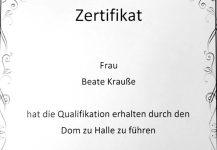 Zertifikat-Domfuehrerin
